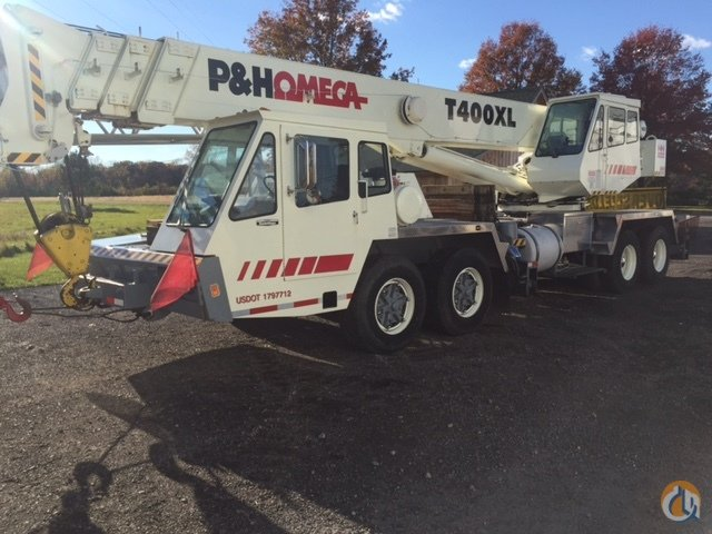 1981 PH Omega T400 XL Crane for Sale in Detroit Michigan on CraneNetworkcom