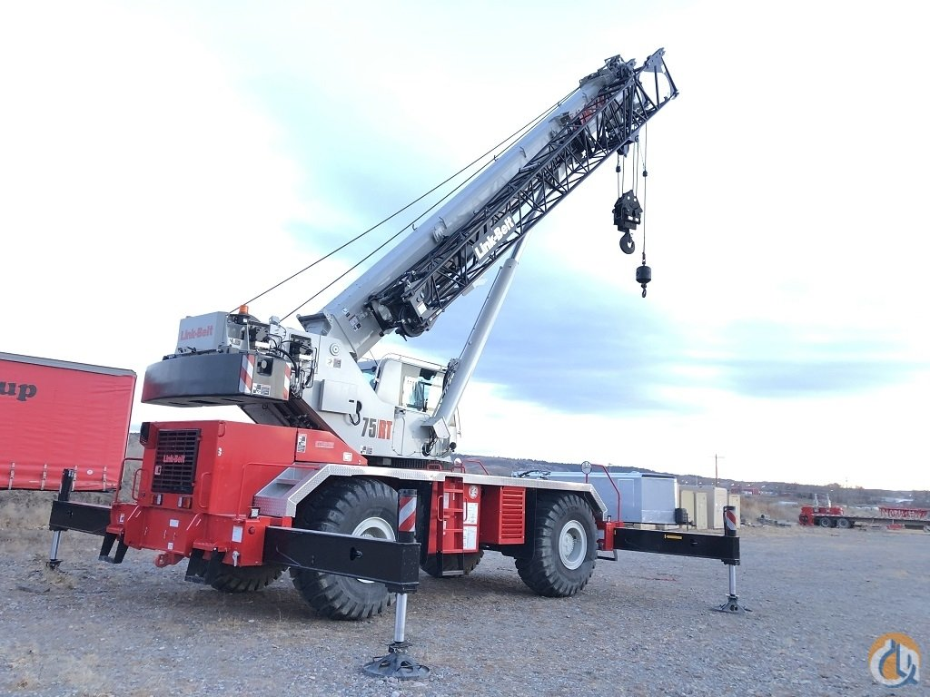 2018 Link-Belt 75RT Rough Terrain Crane for Sale on CraneNetwork.com