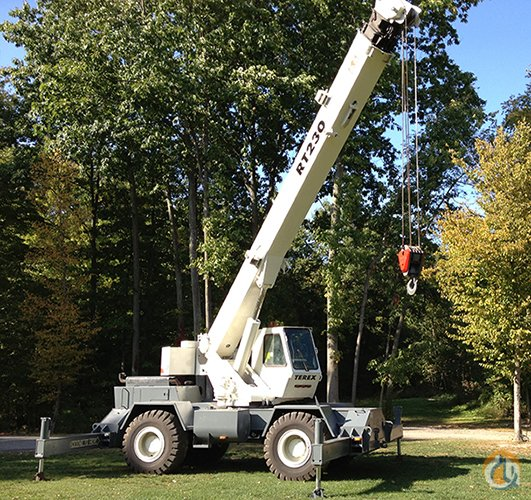 1996 Terex RT230 - PRICE REDUCED Crane for Sale on CraneNetworkcom