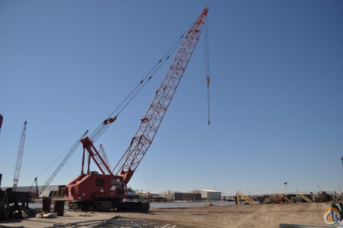 Sold Manitowoc 4000W Crane 150 Ton Cap Crane for in Houma Louisiana on  CraneNetwork.com