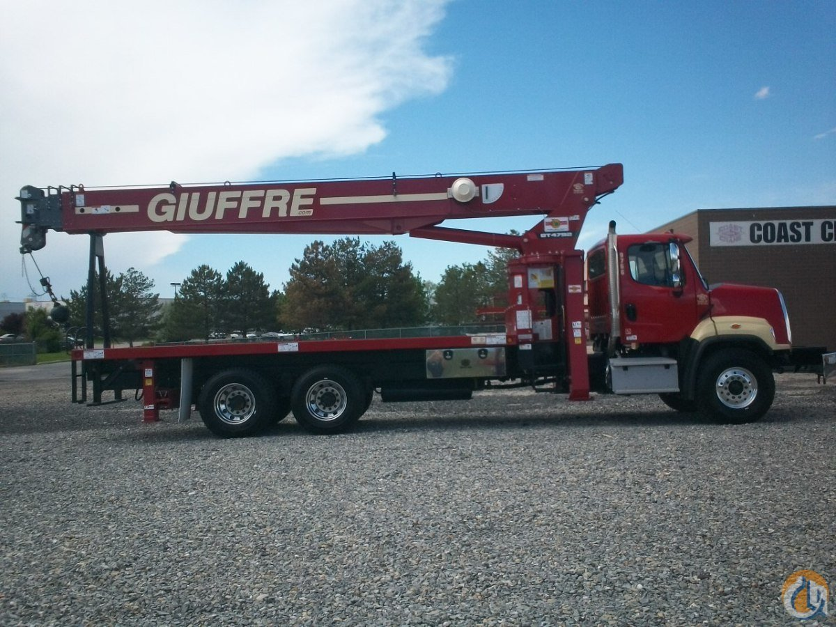 23.5 TON TEREX CRANE ON 2015 FREIGHTLINER 208SD CHASSIS Crane for Sale or Rent in Milwaukee Wisconsin on CraneNetwork.com