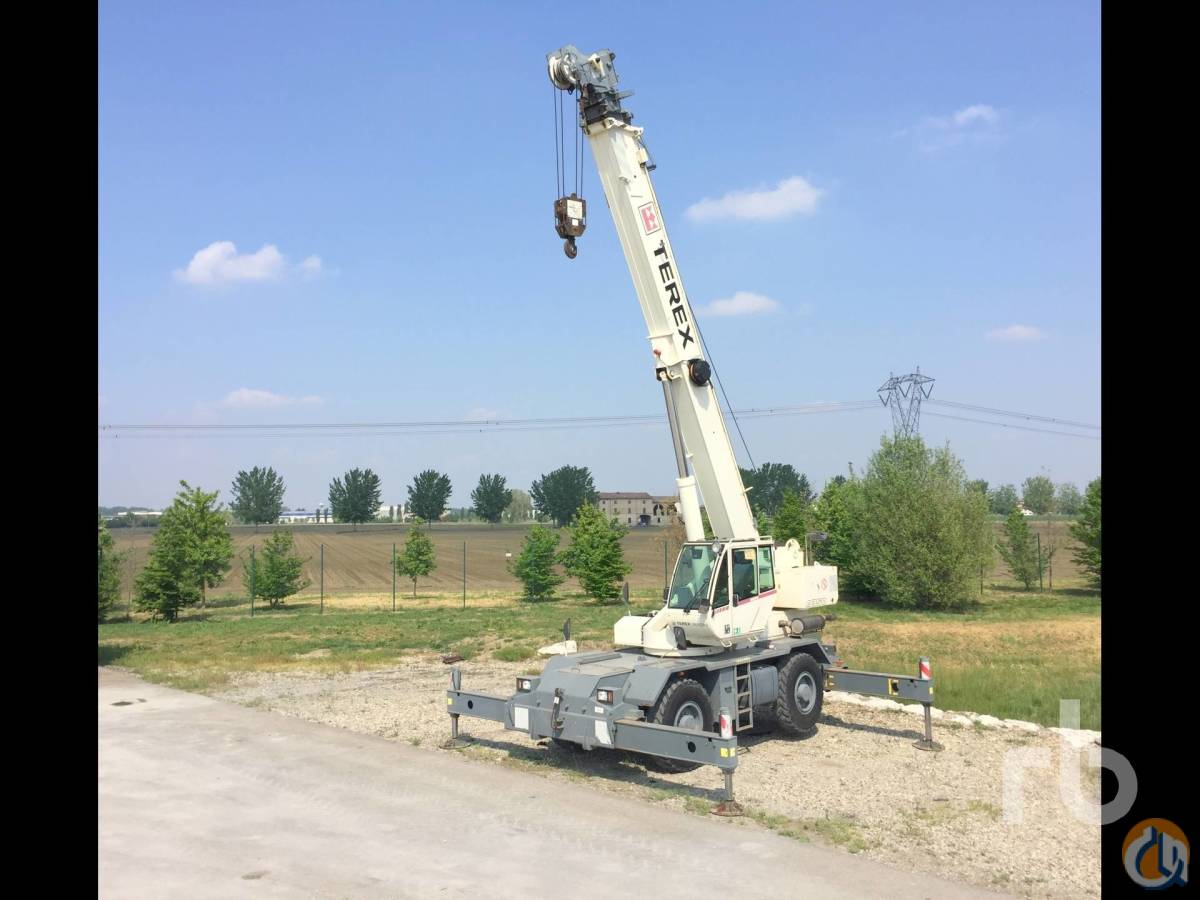 Sold 2009 TEREX A350-1 30 Ton 4x4x4 Rough Terrain Crane Crane for  in Caorso Emilia-Romagna on CraneNetworkcom