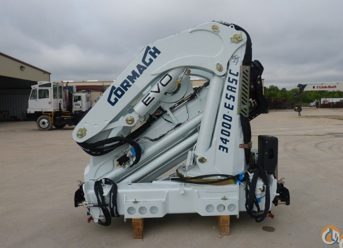 New Cormach 34000E5 ASC Plus knuckle boom crane unmounted Crane for Sale in Olathe Kansas on CraneNetwork.com