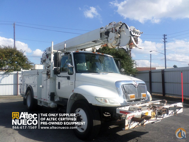 2004 ALTEC D845-BR Crane for Sale in Birmingham Alabama on CraneNetworkcom