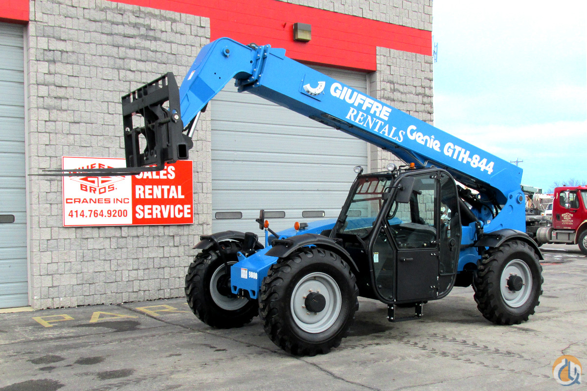 FOR SALE OR RENT 8000 GENIE GTH-844 TELEHANDLER Crane for Sale in Milwaukee Wisconsin on CraneNetwork.com