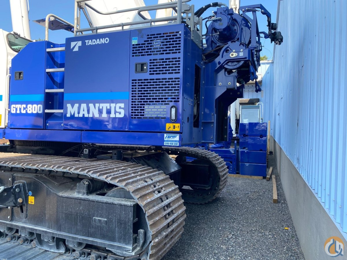 2019 TADANO MANTIS GTC800 Crane for Sale or Rent in Holbrook Massachusetts on CraneNetwork.com