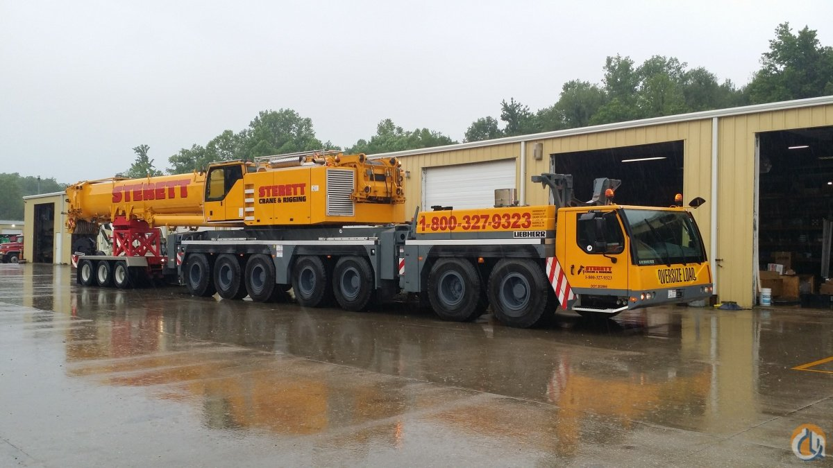 2007 Liebherr LTM1400-71 Crane for Sale in Elberfeld Indiana on CraneNetworkcom