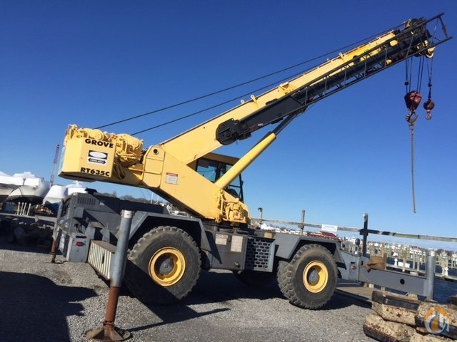 1992 Grove RT635C Crane for Sale in New York New York on CraneNetworkcom