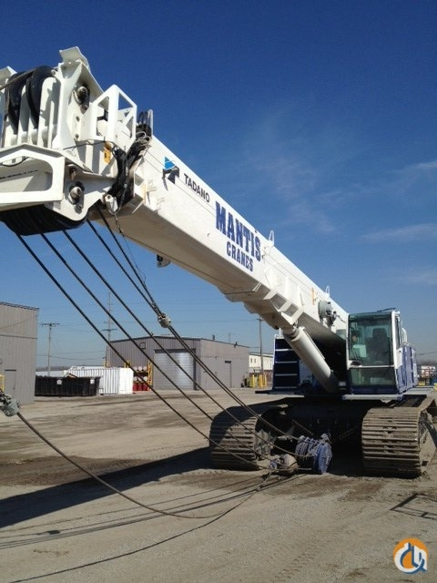 2011 MANTIS 15010 FOR SALE Crane for Sale in Gary Indiana on CraneNetworkcom