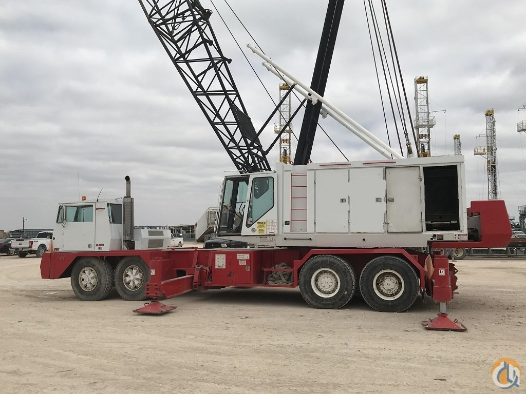 1981 Link-Belt HC238A Lattice Boom Truck Crane for Sale on CraneNetwork.com