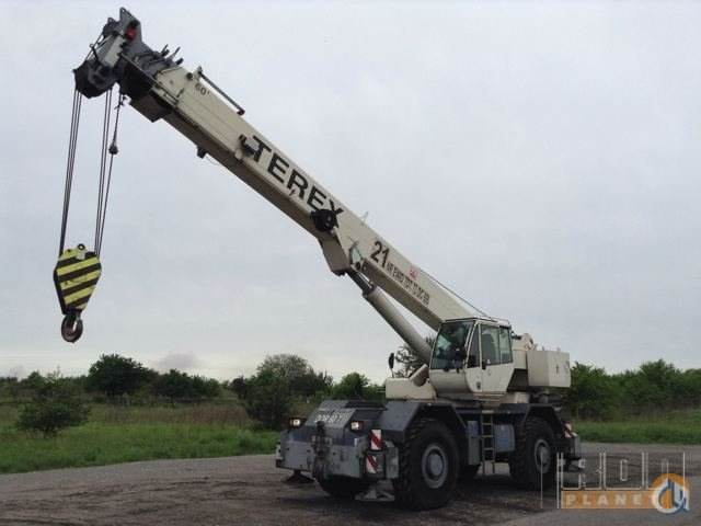 Sold 2002 Terex A600S Rough Terrain Crane Crane for  on CraneNetworkcom