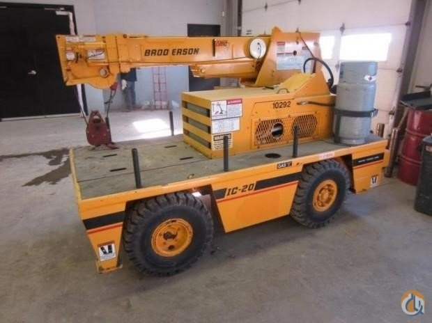 2019 BRODERSON IC20 Crane for Sale in Houston Texas on CraneNetwork.com