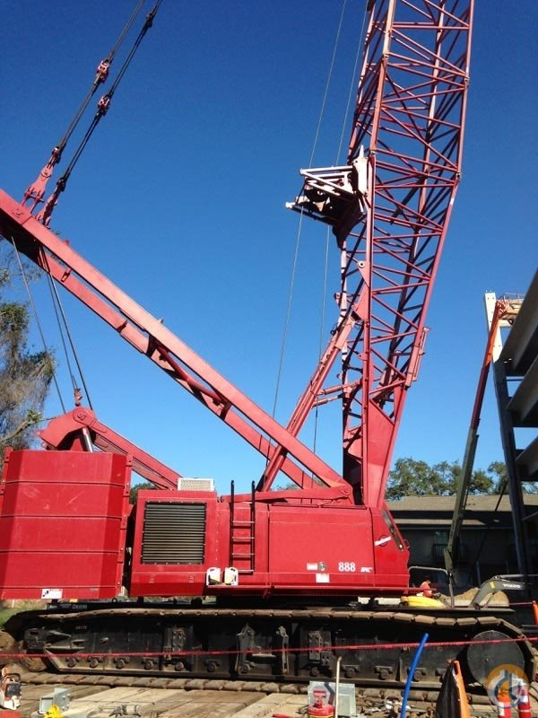 1999 Manitowoc 888 SII Crane for Sale on CraneNetwork.com