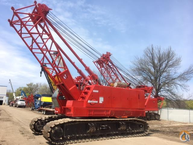 2005 Manitowoc 10000 Crane for Sale in Bloomington Minnesota on CraneNetwork.com