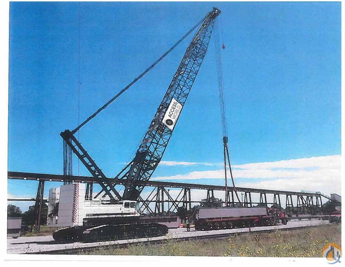 Sold 2015 Terex HC285 Crane for  in Baltimore Maryland on CraneNetwork.com