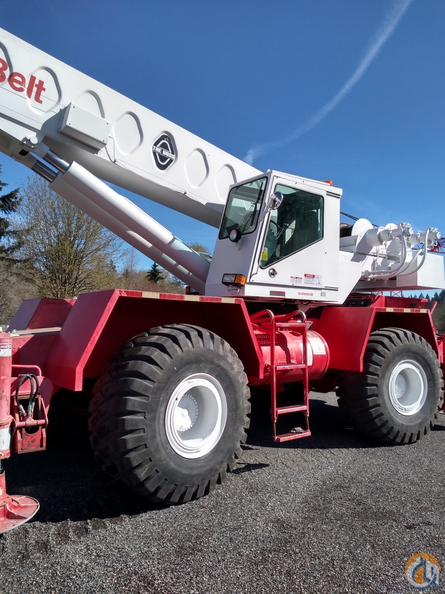 1993 Linkbelt HSP8040 Crane for Sale in Olympia Washington on CraneNetwork.com
