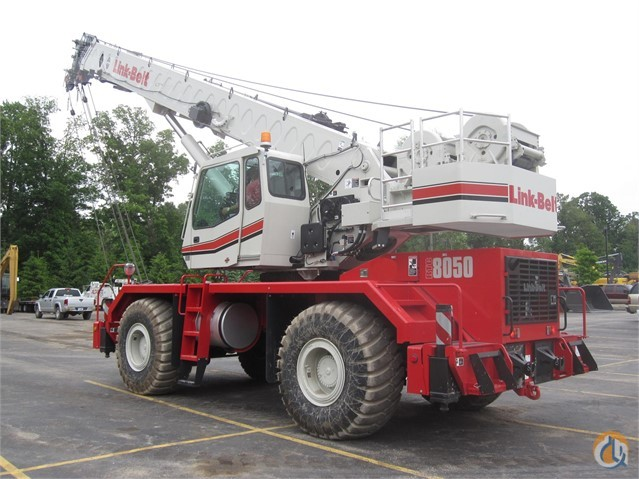 2015 LINK-BELT RTC-8050 II Crane for Sale in Lyon Charter Township Michigan on CraneNetwork.com