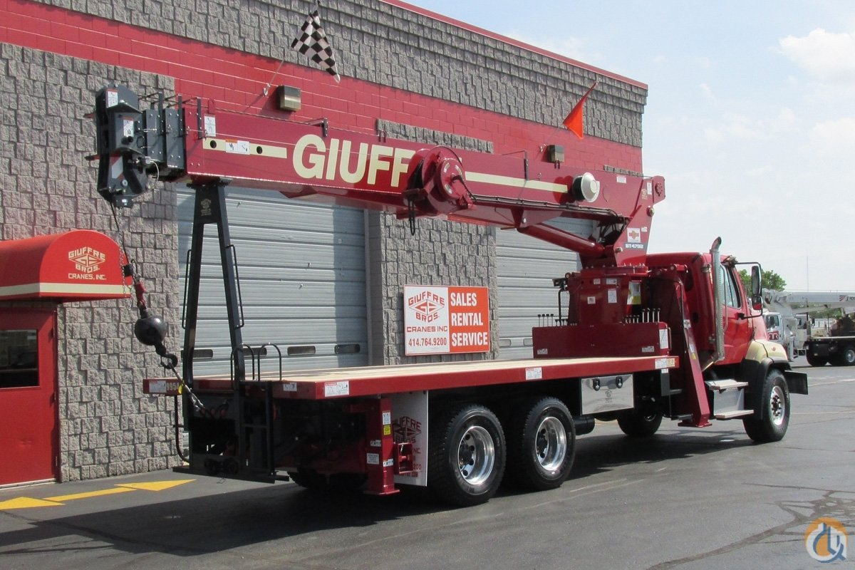Sold Rental Fleet Terex BT4792 on 2017 Freightliner 108SD Crane for  in Milwaukee Wisconsin on CraneNetwork.com
