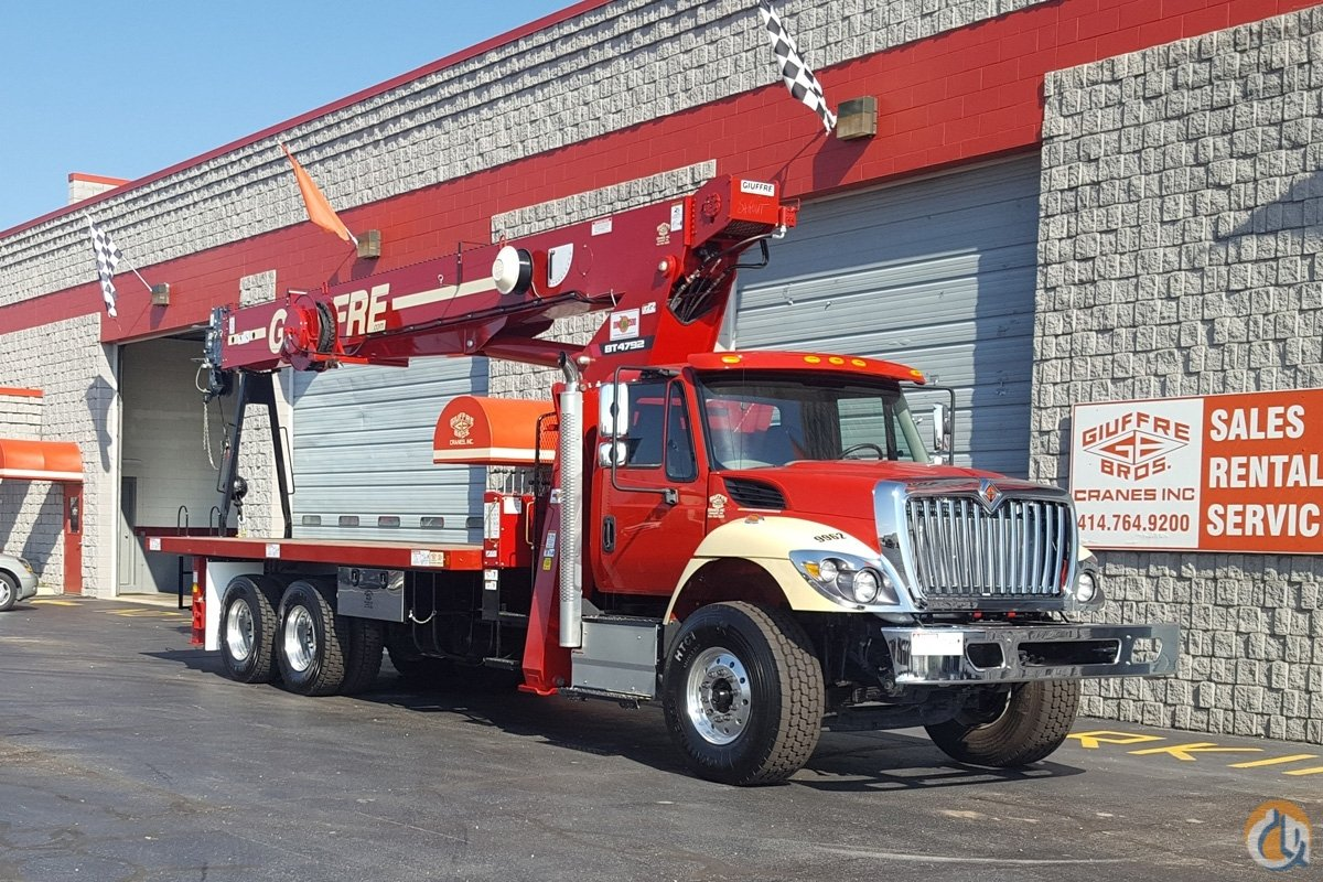 Terex BT4792 on 2017 International 7500 Crane for Sale in Milwaukee Wisconsin on CraneNetworkcom