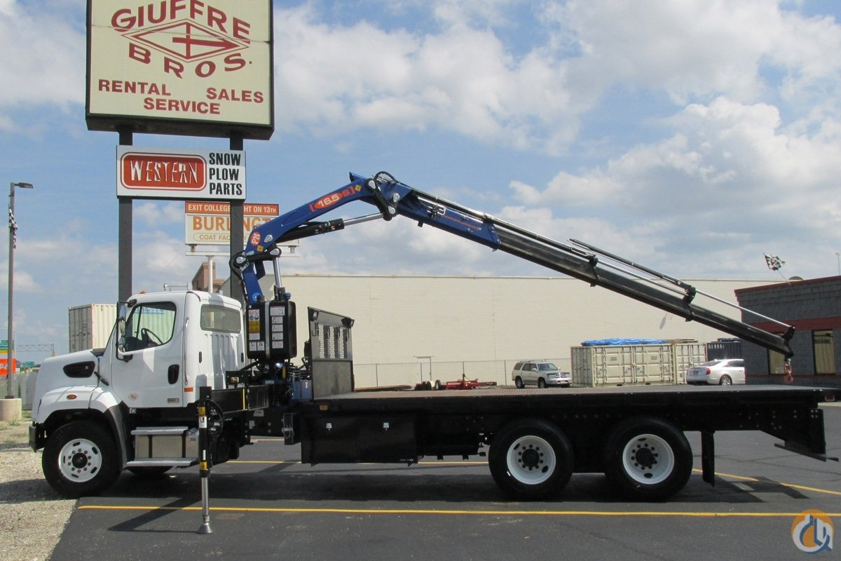 Sold Demo PM 16523S on 2015 Freightliner 108SD Crane for  in Milwaukee Wisconsin on CraneNetwork.com