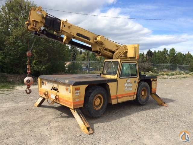 1994 Grove AP408 Crane for Sale in Calgary Alberta on CraneNetwork.com