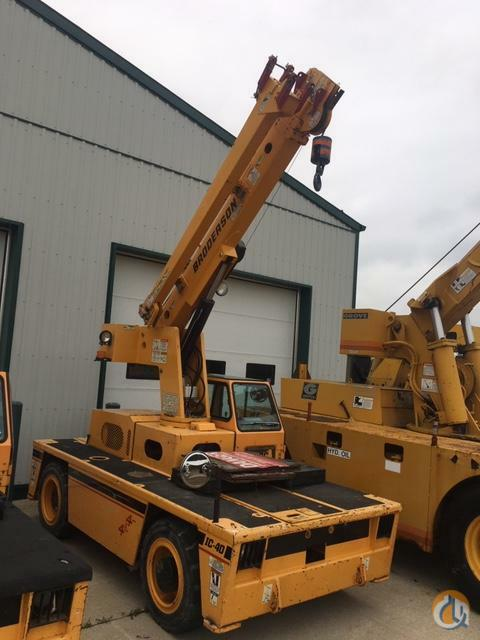 2014 broderson IC-40 Crane for Sale in Sarnia Ontario on CraneNetwork.com