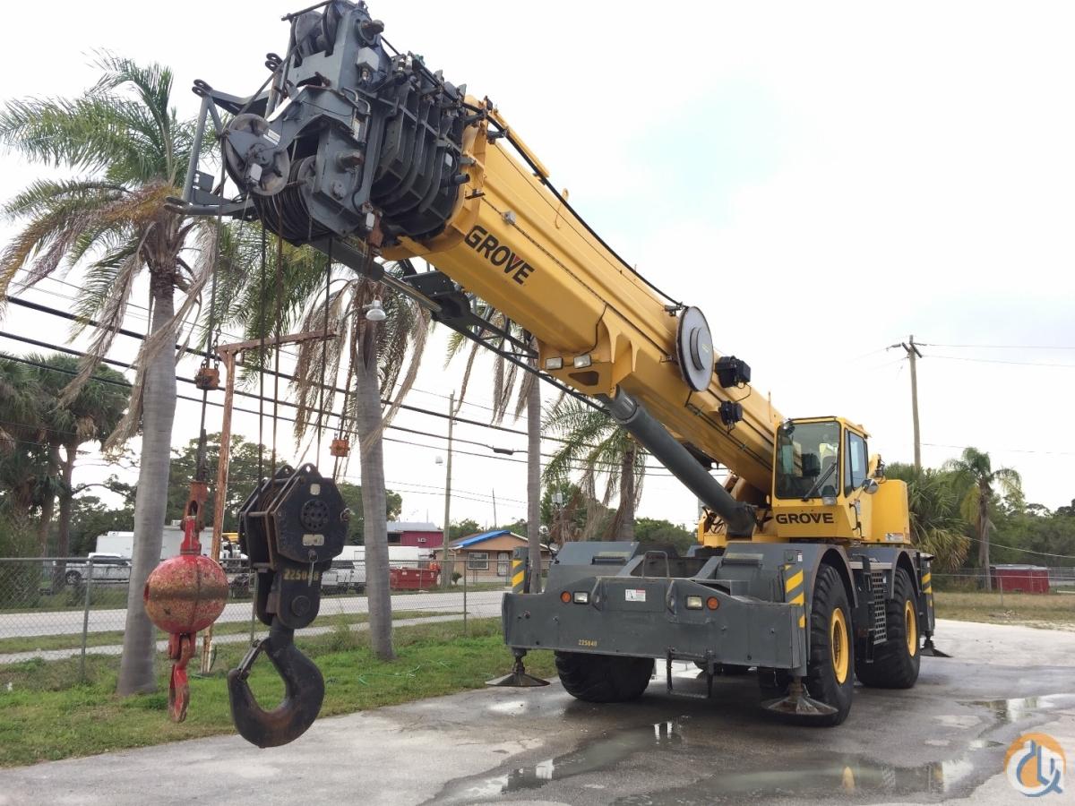 sold grove rt 890e crane for in fort pierce florida on cranenetwork com rh cranenetwork com Grove RT880E Rough Terrain Cranes Grove RT 9130