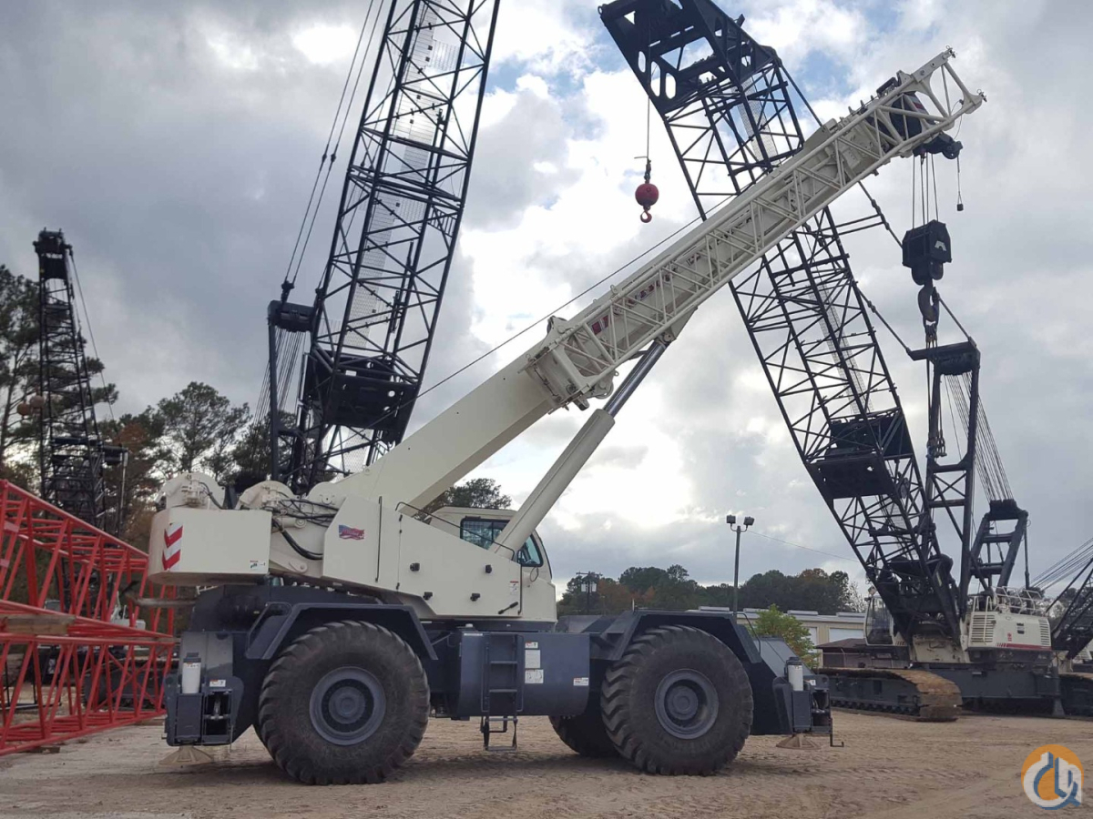 2013 TEREX RT-130 Crane for Sale or Rent in Savannah Georgia on CraneNetwork.com