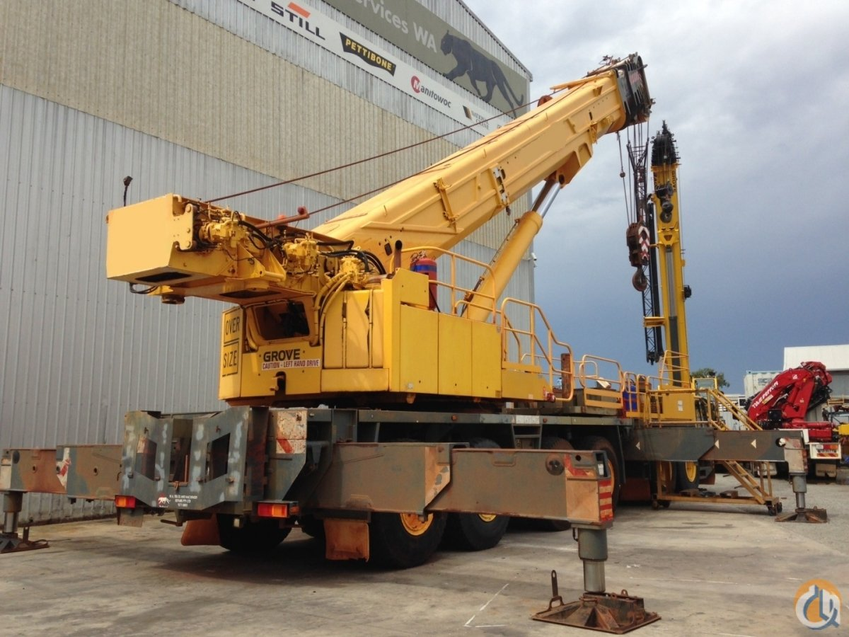 Super low price for low-hours 220T Grove all-terrain mobile crane Crane for Sale in Perth Western Australia on CraneNetwork.com