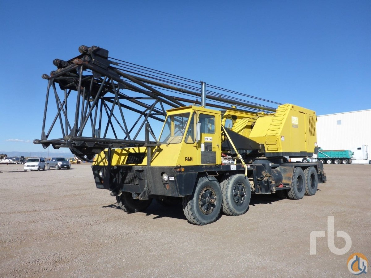 Sold P  H 790BTC Crane for  in Denver Colorado on CraneNetworkcom
