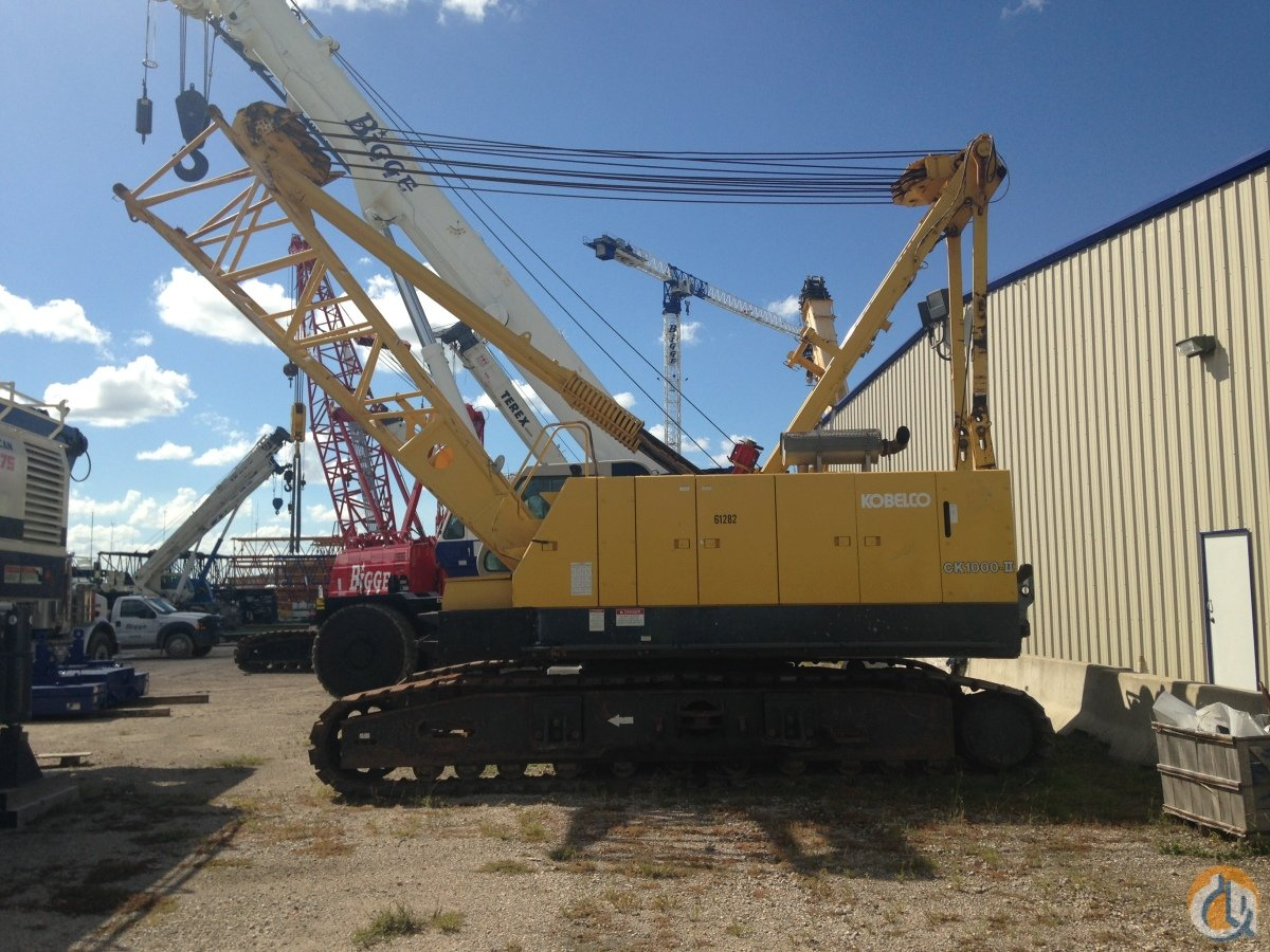 2005 Kobelco CK1000-II Crane for Sale in Houston Texas on CraneNetworkcom