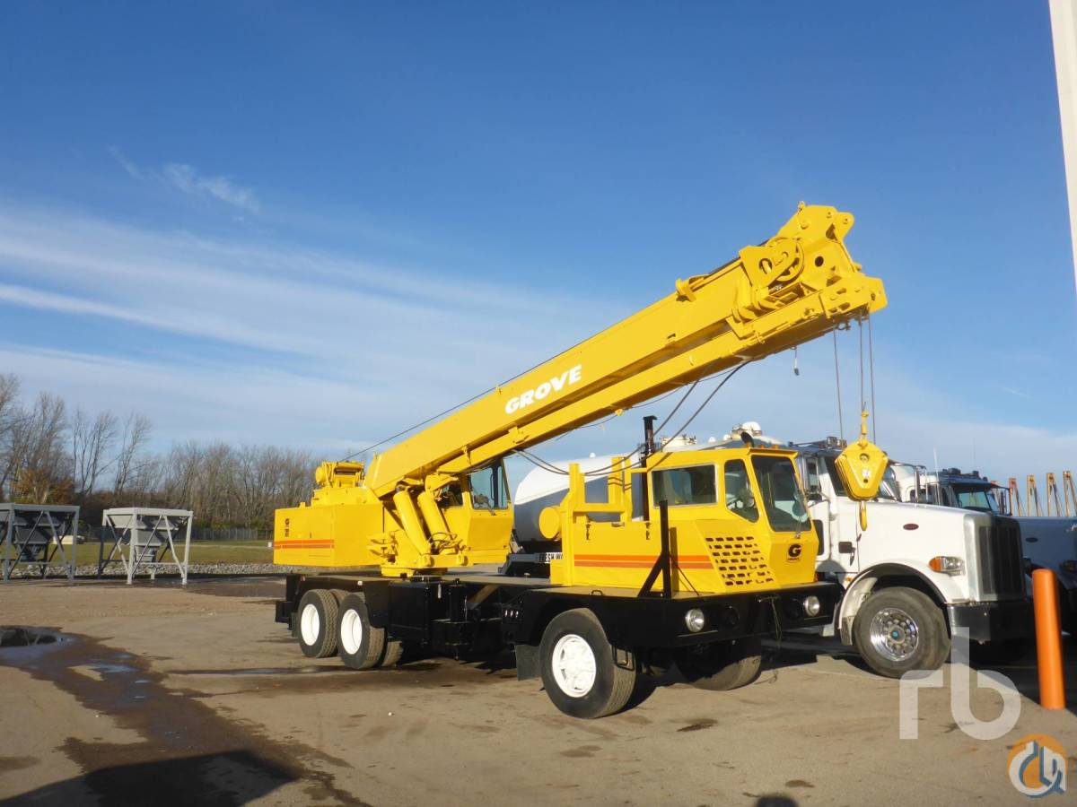 Sold 1986 GROVE 6628G Crane for  in Columbus Ohio on CraneNetworkcom