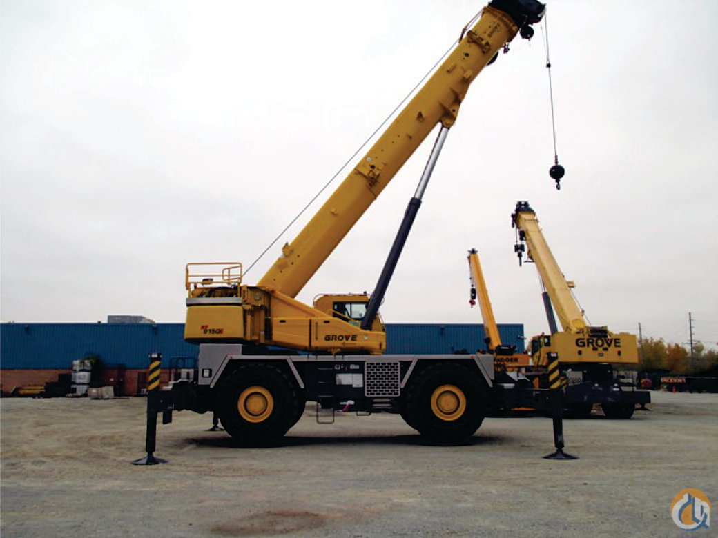 2012 Grove RT9150E Crane for Sale on CraneNetwork.com