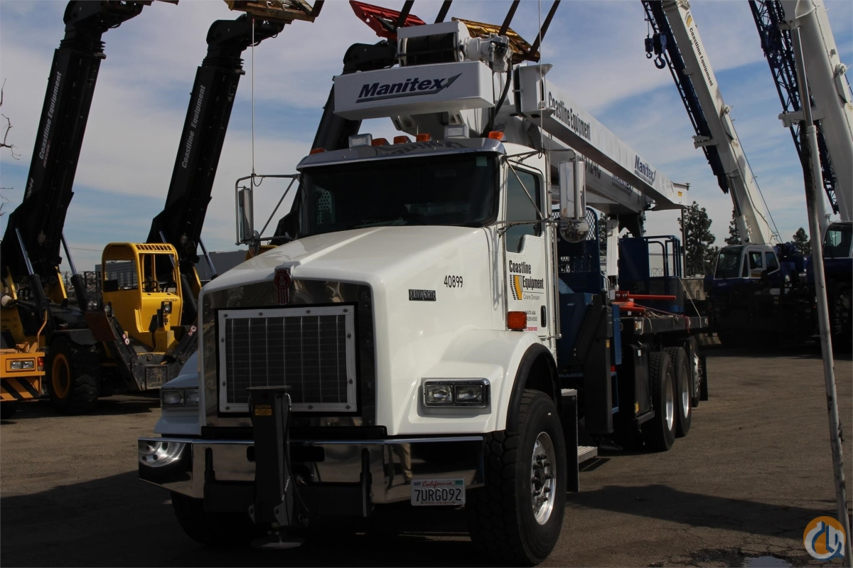 2015 MANITEX 35124C Crane for Sale or Rent in Santa Ana California on CraneNetworkcom
