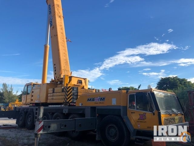 Sold 1998 Liebherr LTM1225 All Terrain Crane Crane for  in Pompano Beach Florida on CraneNetwork.com