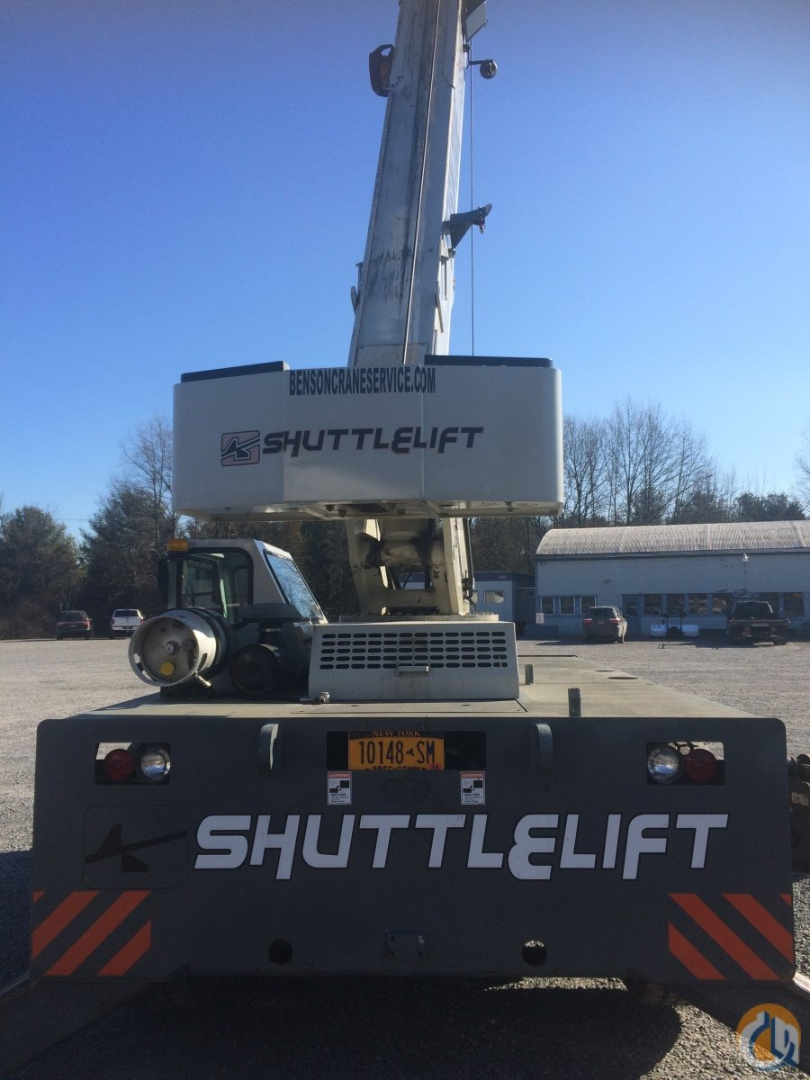 2009 Shuttlelift 5540F Dual Fuel.  4 New Tires Crane for Sale in Saugerties New York on CraneNetwork.com