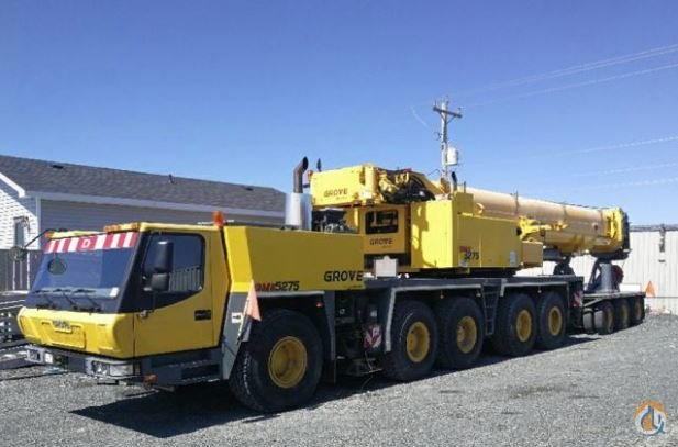 2011 Grove GMK5275 Crane for Sale on CraneNetwork.com