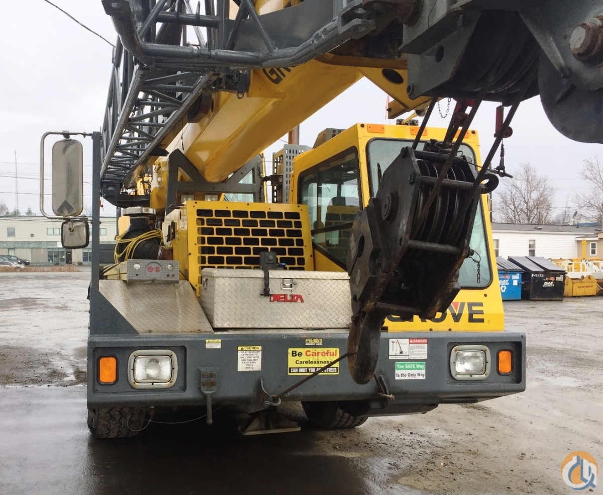 2009 Grove TMS745E TMS700E Crane for Sale in Oakville Ontario on CraneNetwork.com