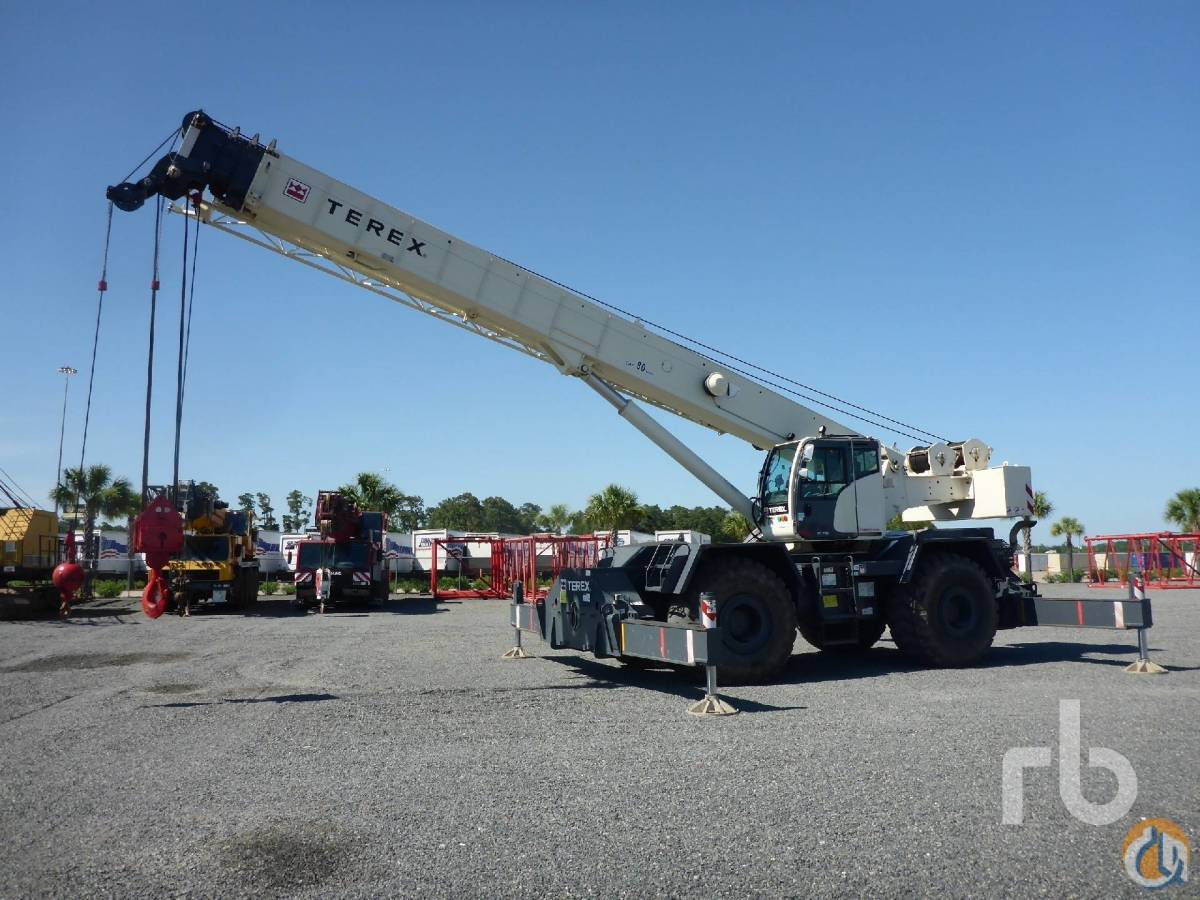 Sold 2014 TEREX RT780 80 Ton Rough Terrain Crane Crane for  in Houston Texas on CraneNetworkcom