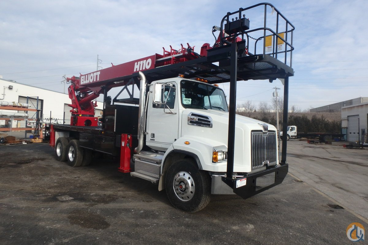 2017 ELLIOTT H110 MOUNTED ON A WESTERN STAR 4700 Crane for Sale in Bristol Pennsylvania on CraneNetwork.com