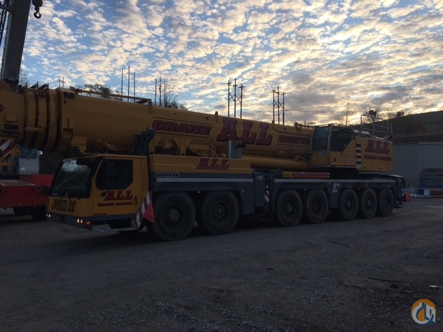 Liebherr LTM 1400 7.1 For Sale Crane for Sale in Lima Ohio on CraneNetwork.com