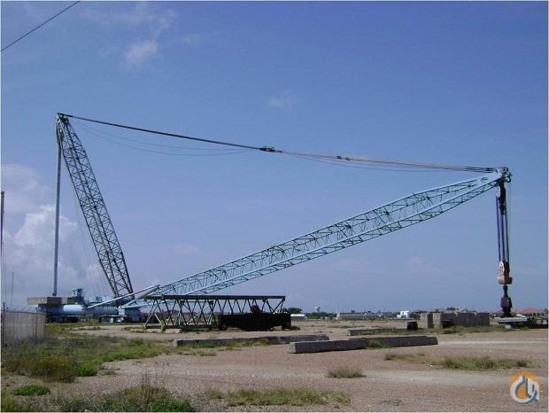 1982 Lampson LTL-1500 Crane for Sale in Houston Texas on