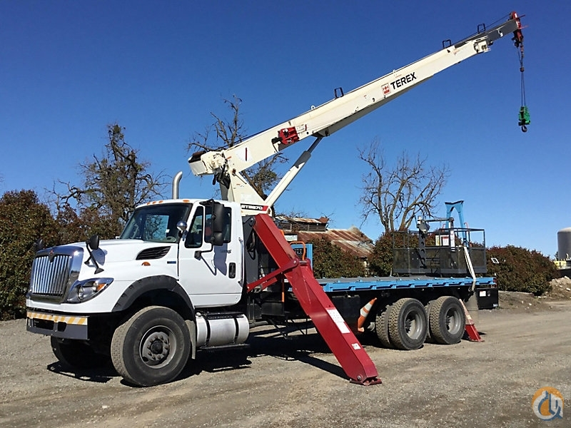 Sold Terex BT3870-T Crane for in Wright City Missouri on