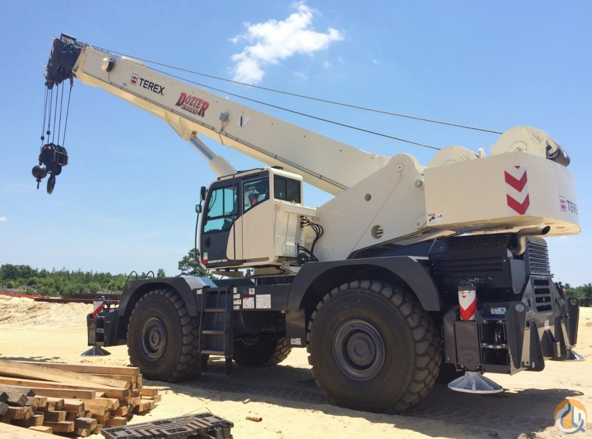 2014 TEREX QUADSTAR 1100 Crane for Sale or Rent in Savannah Georgia on CraneNetworkcom