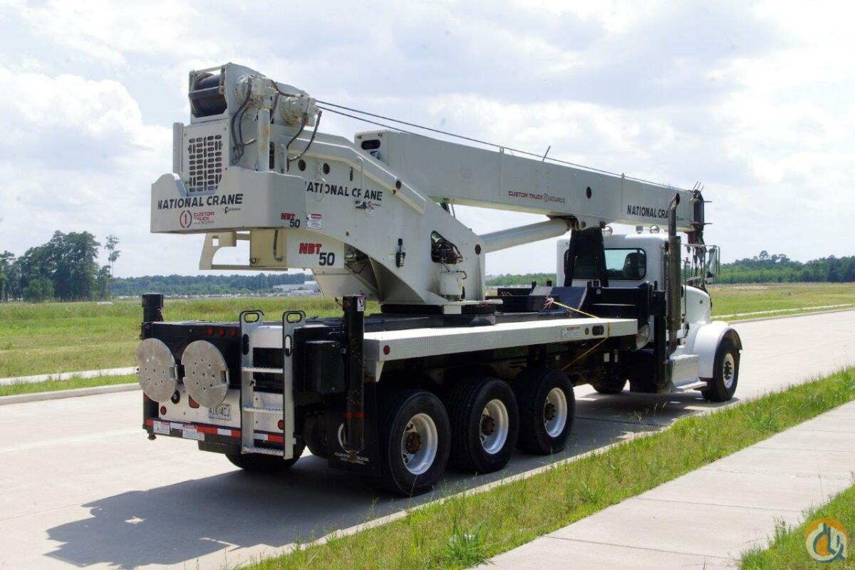 2013 National NBT50-102 Mounted on a 2014 Peterbilt 367 8x6 Crane for Sale in Houston Texas on CraneNetwork.com