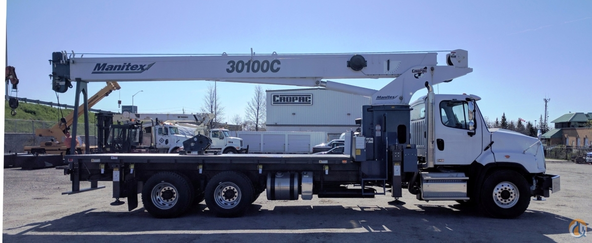 2017 Manitex 30100C OD Crane for Sale or Rent in Oakville Ontario on CraneNetworkcom