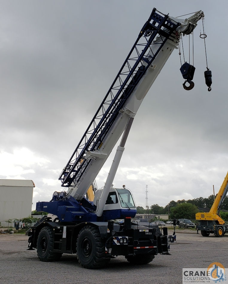 2008 Tadano GR600XL-1 Crane for Sale in Savannah Georgia on CraneNetwork.com