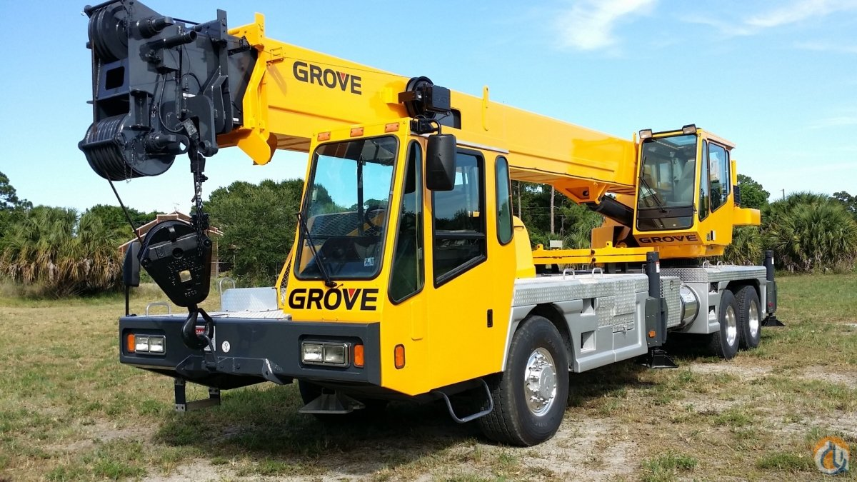 2000 GROVE TMS540 40 TON CRANE ON DEMAND ALL WHEEL DRIVE FLORIDA Crane for Sale in Fort Pierce Florida on CraneNetwork.com