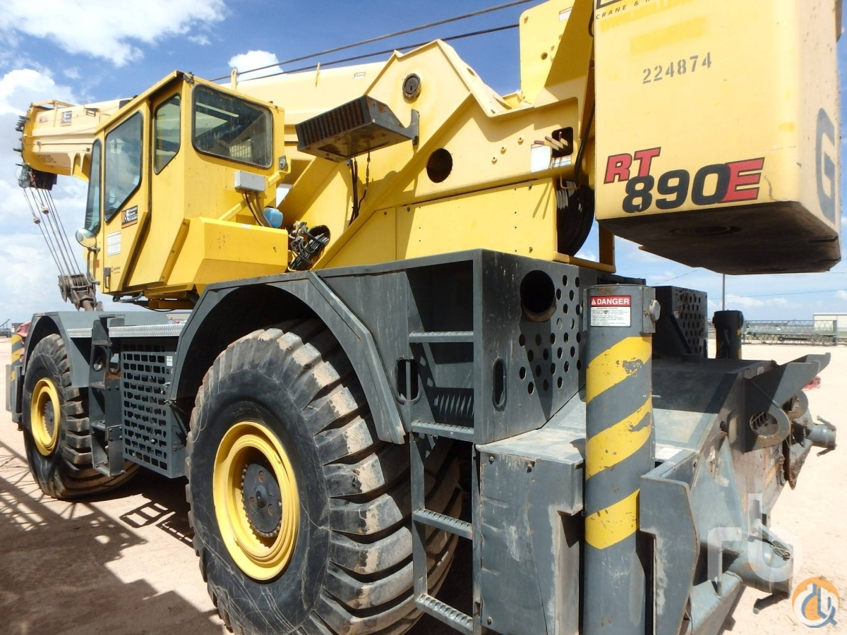 Sold 2005 GROVE RT890E 90 Ton 4x4x4 Rough Terrain Crane Crane for  in Denver Colorado on CraneNetworkcom