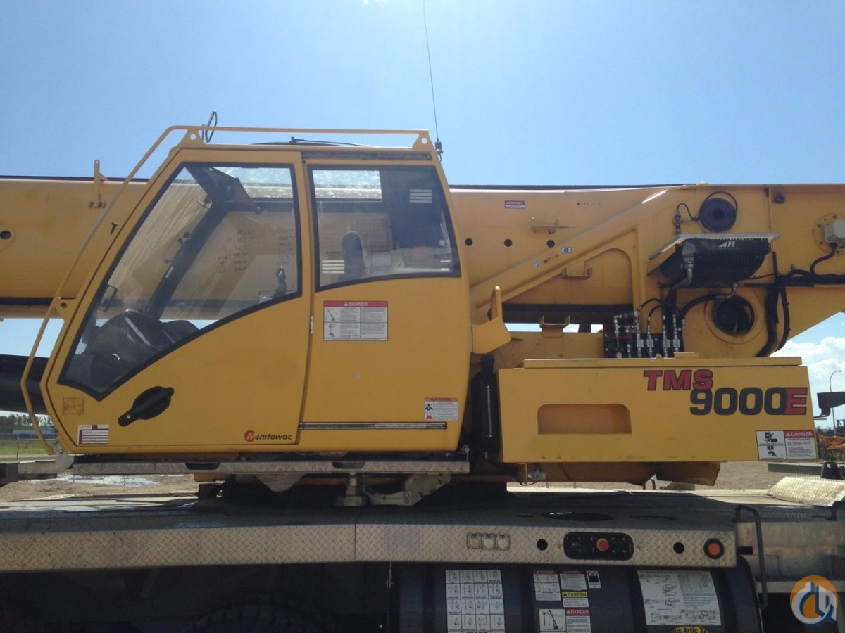 GROVE TMS 9000E 110Ton 2012 575000 WITH BOOM DOLLY Crane for Sale on CraneNetworkcom